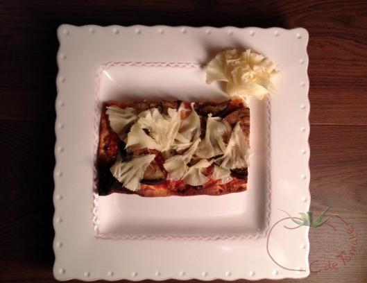 pizza berenja+moine