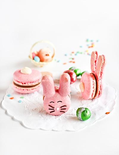 macarons de conejito