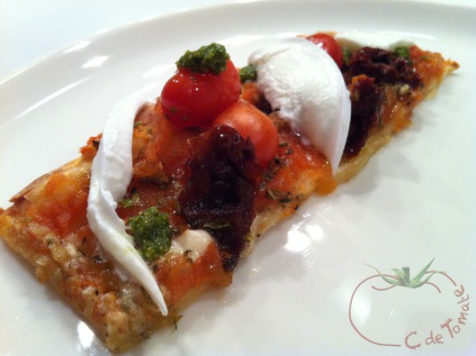 Pizza tomatera