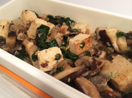 tofu-espinacas